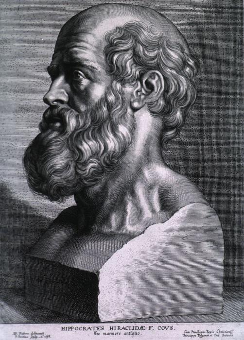 [Bust of Hippocrates]