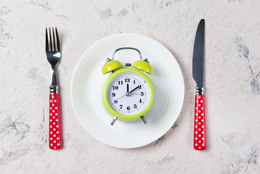 relógio em um prato