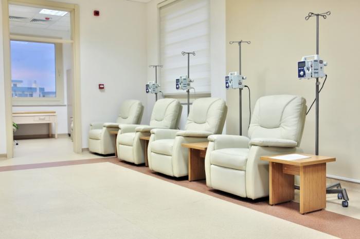 sala per chemioterapia