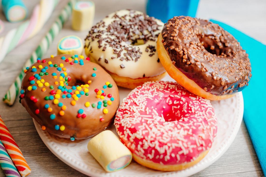 Ciambelle zuccherate Dieta primitiva