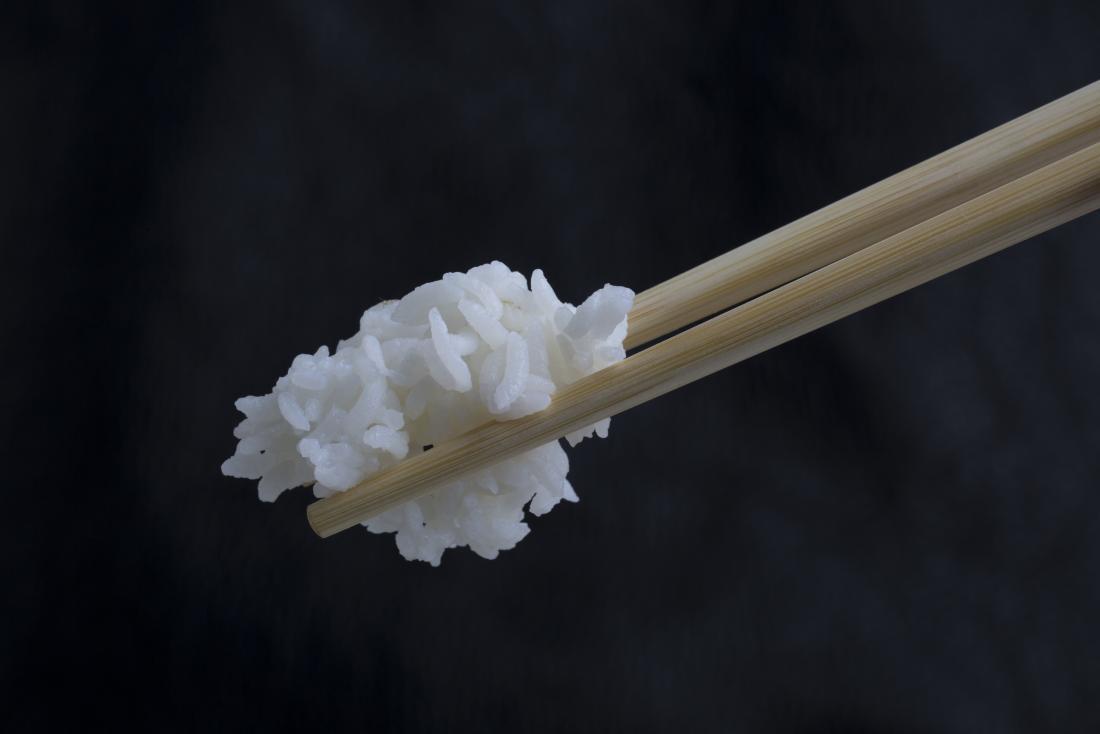 箸の上の米キサンタンガム