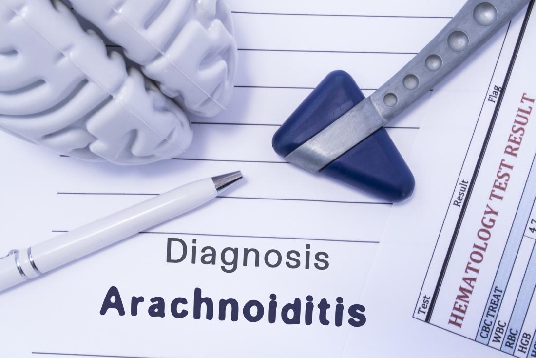 арахноидит, написан с мозък