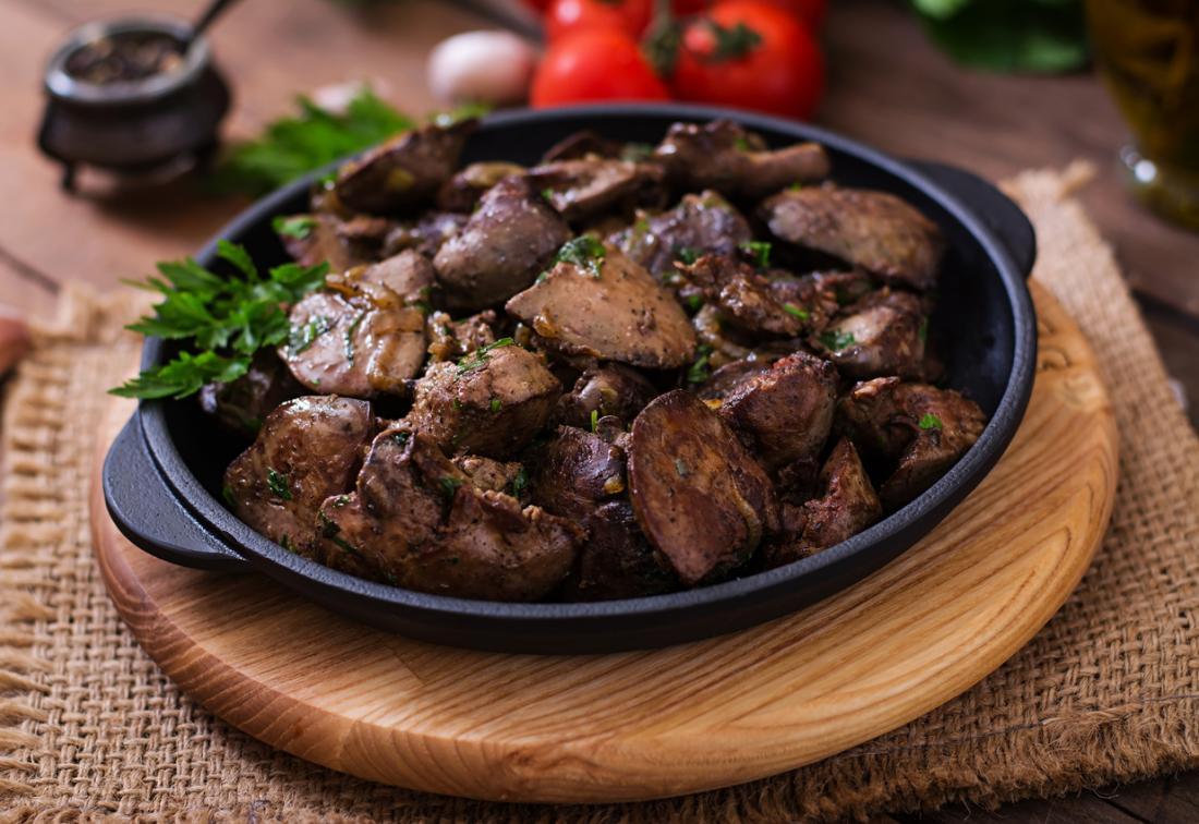 Черният дроб е вид органно месо или карантии.