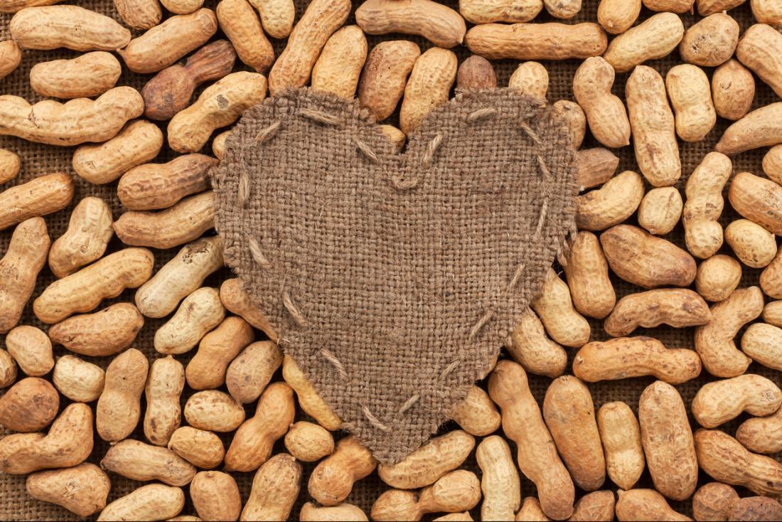 [Beneficio del cuore di arachidi del diabete]