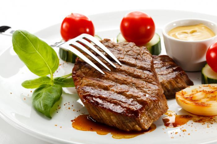 [アトキンス食の肉や低炭水化物野菜]