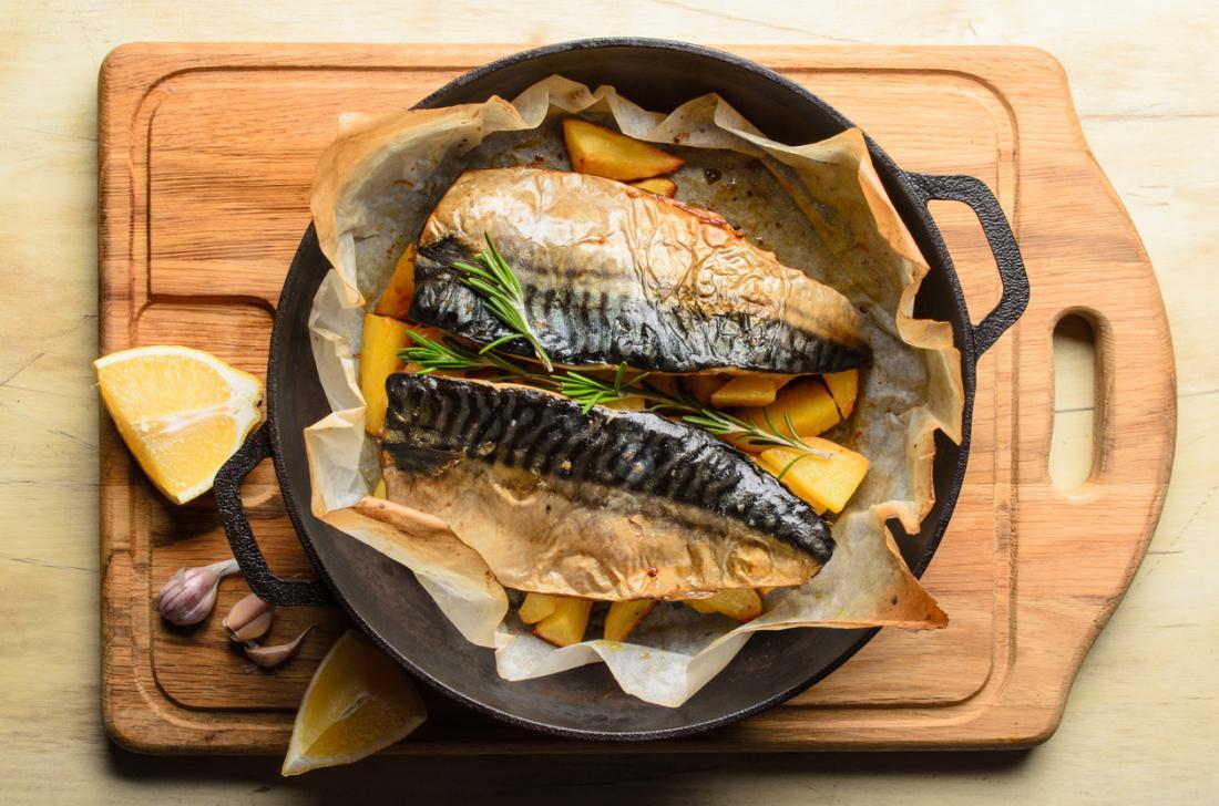 cá thu nướng trong chảo