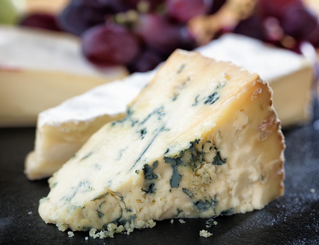 ブルーチーズはビタミンKが多い食品です