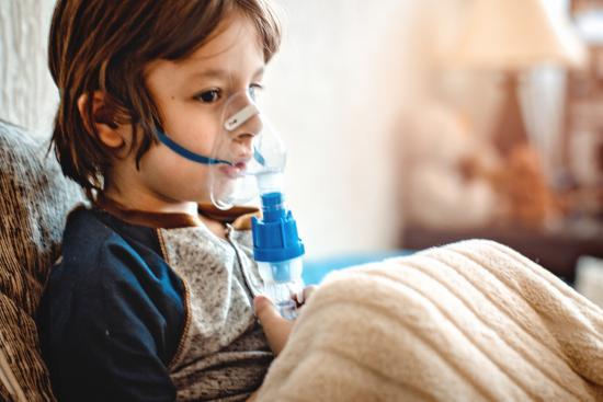 [wenn Mukoviszidose zu Bronchiektasen führt, kann Sauerstoff notwendig sein]