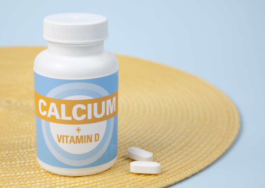 suppléments de vitamine D calcium