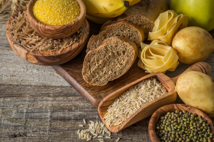 Aliments contenant des hydrates de carbone