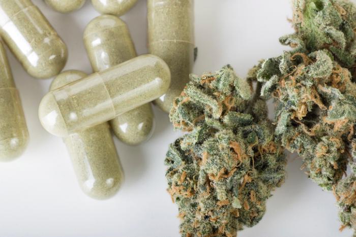 Medizinisches Marihuana.