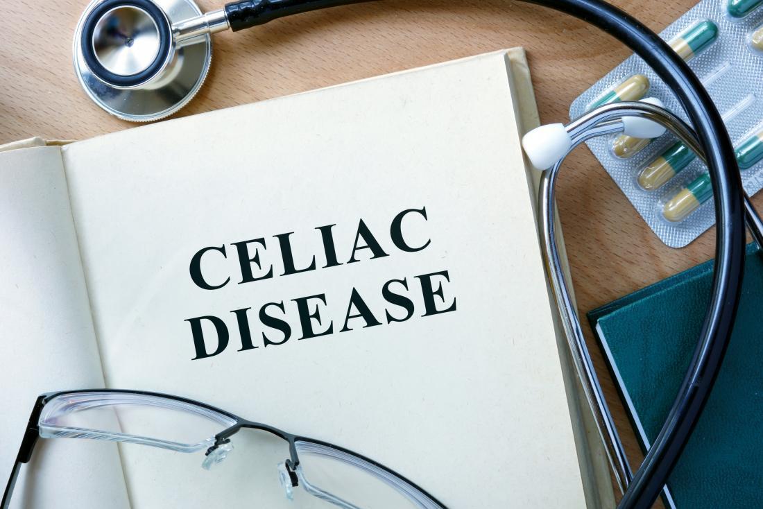 la maladie coeliaque écrite dans un livre