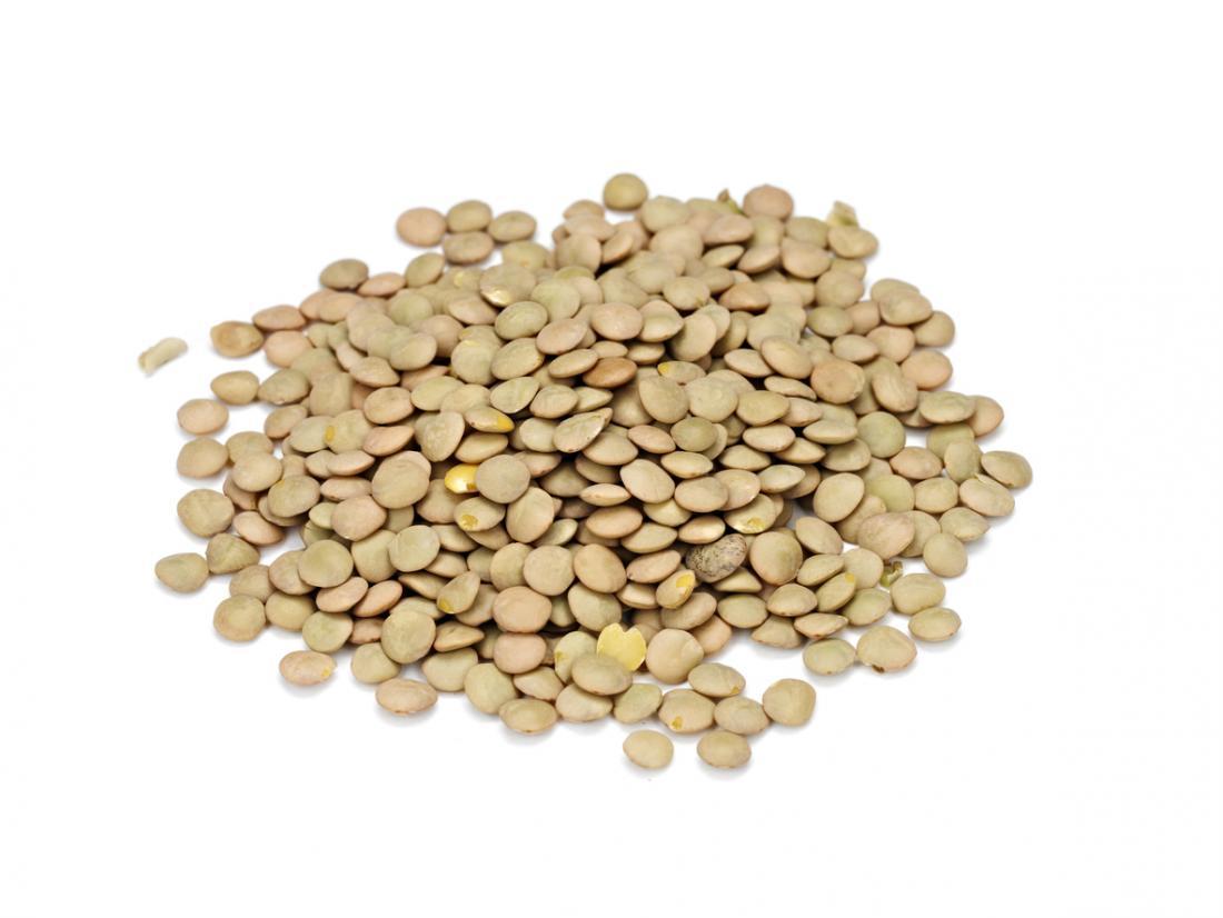 Soczewica i inne rośliny strączkowe są zdrową formą węglowodanów.