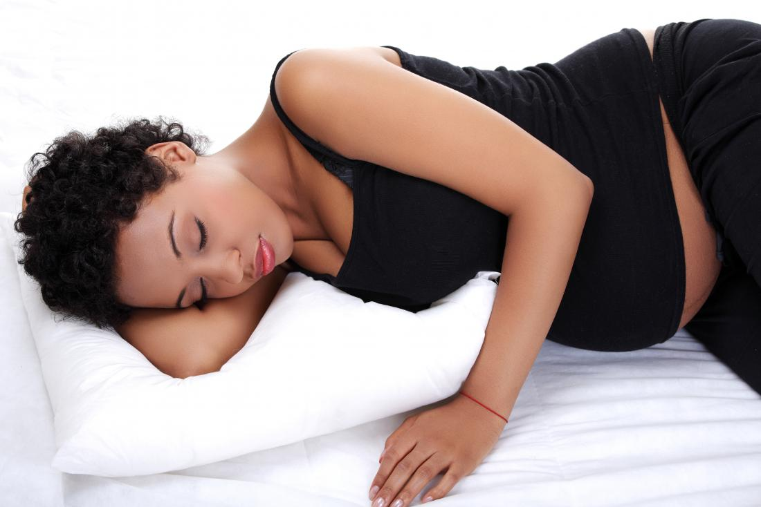 妊娠中の女性休息