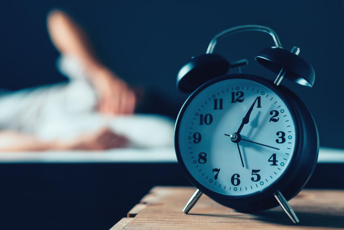 目覚まし時計のクローズアップ