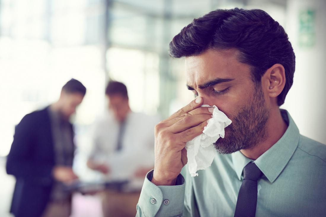副鼻腔炎。