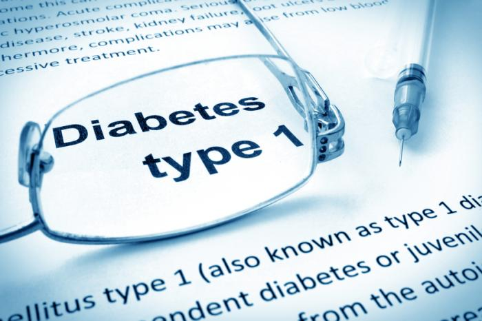 [Diabetes Typ 1 mit Definition]