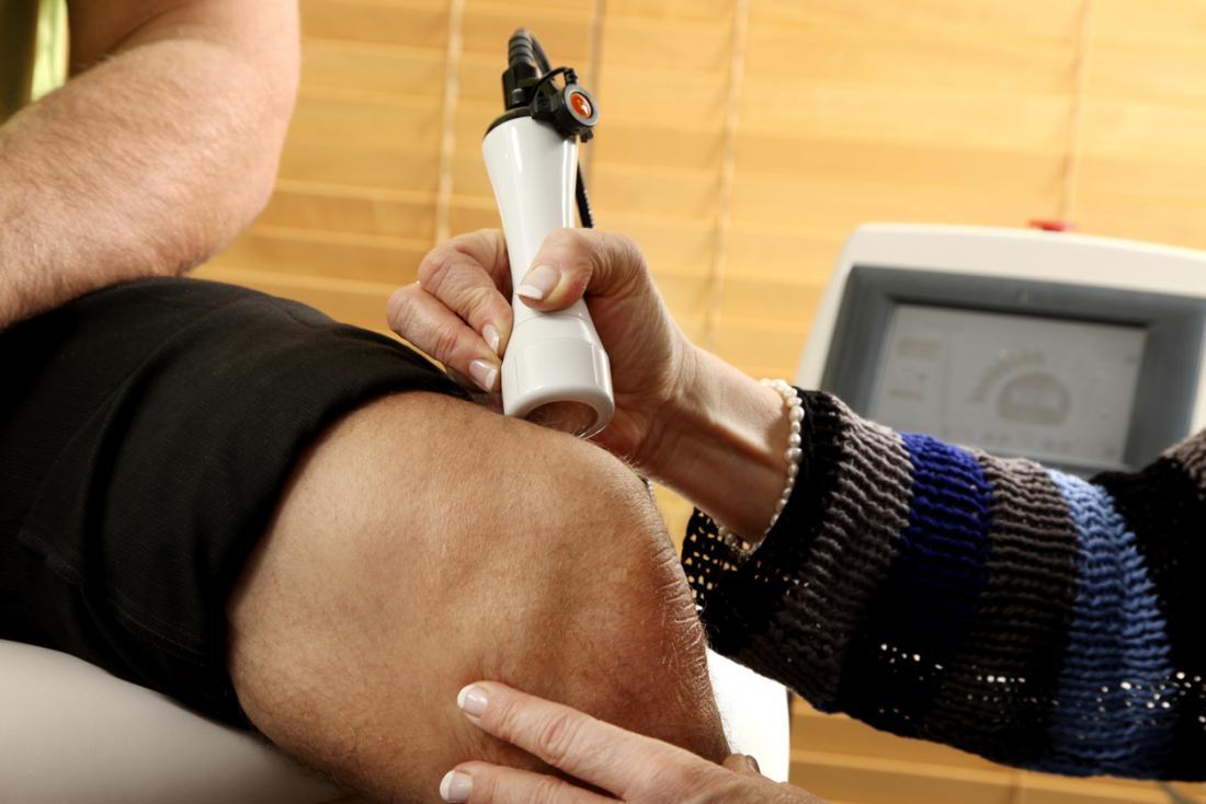 Laseroterapia bólu kolana.