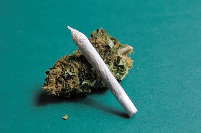 Marihuana-Zigarette