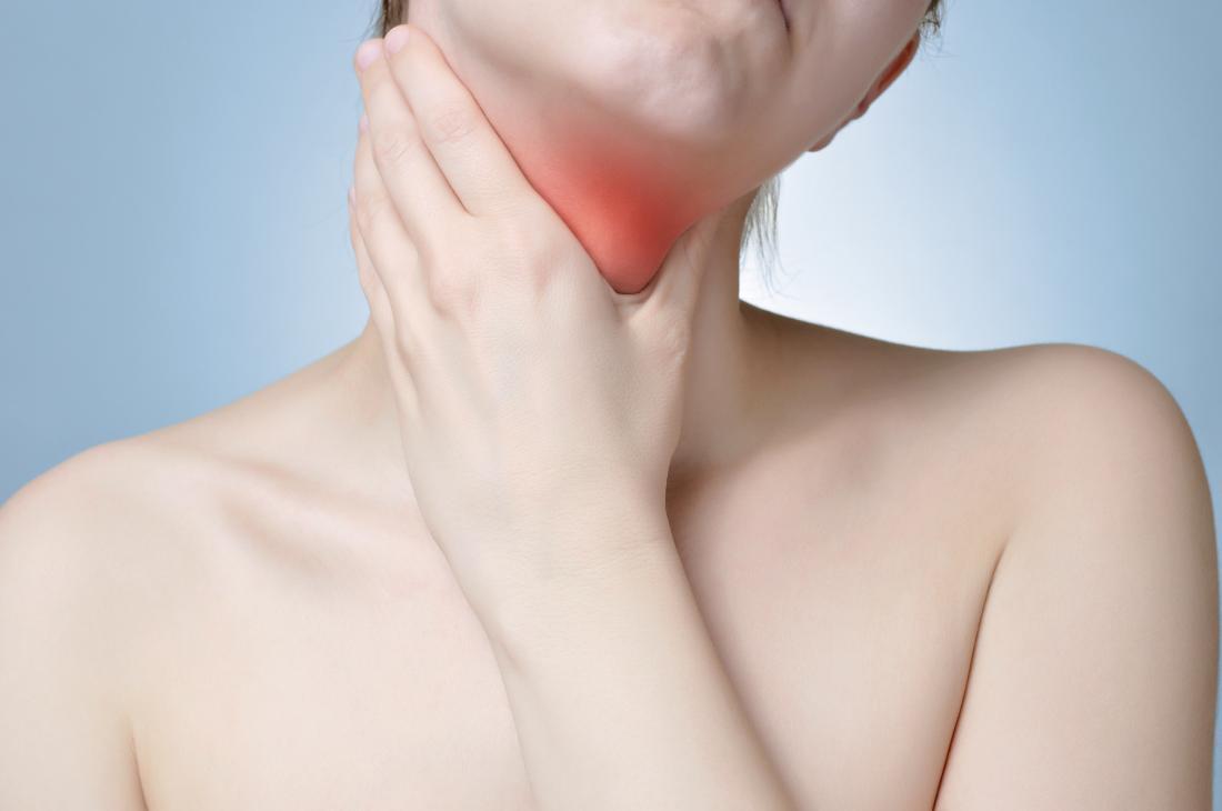 Sintomas do câncer de garganta