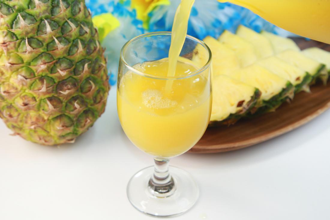 Ananassäfte.