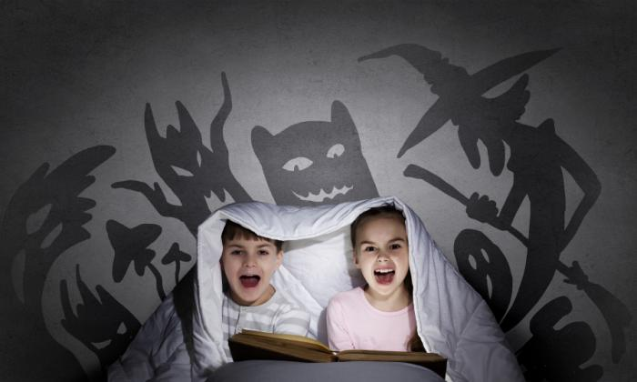crianças tendo pesadelo