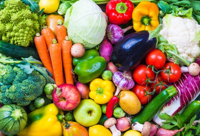 [Eine Auswahl an Gemüse