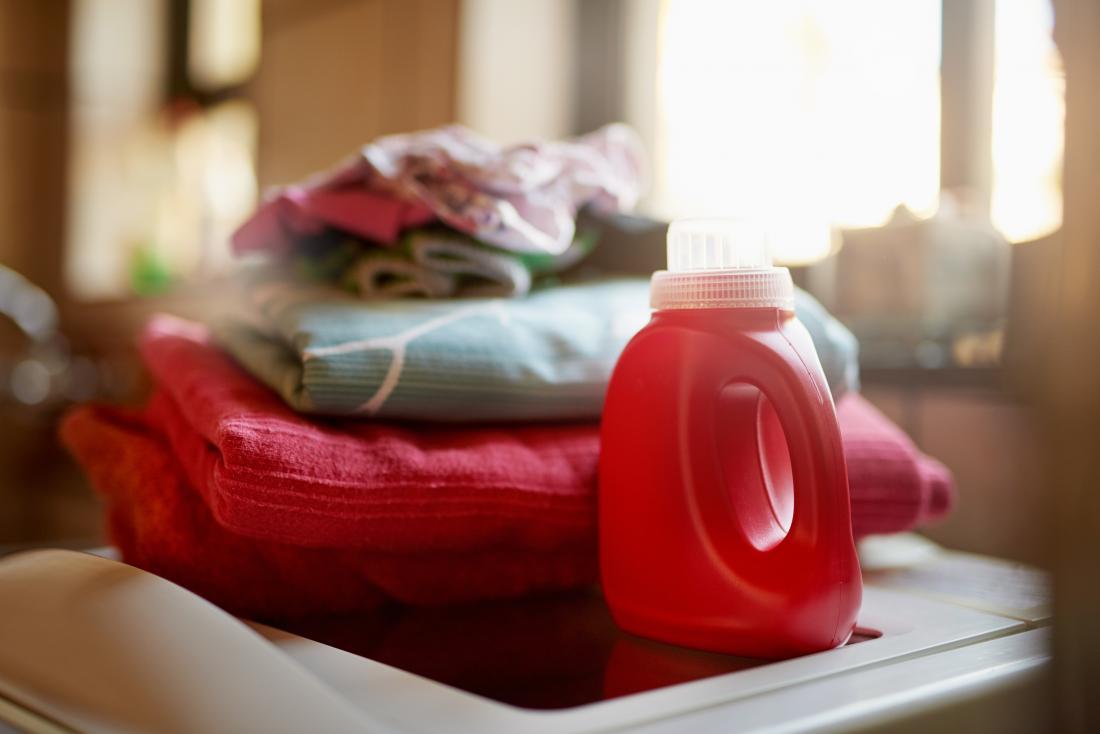 ファブリックコンディショナーと洗濯用洗剤