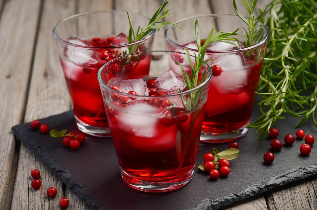 Jus de cranberry
