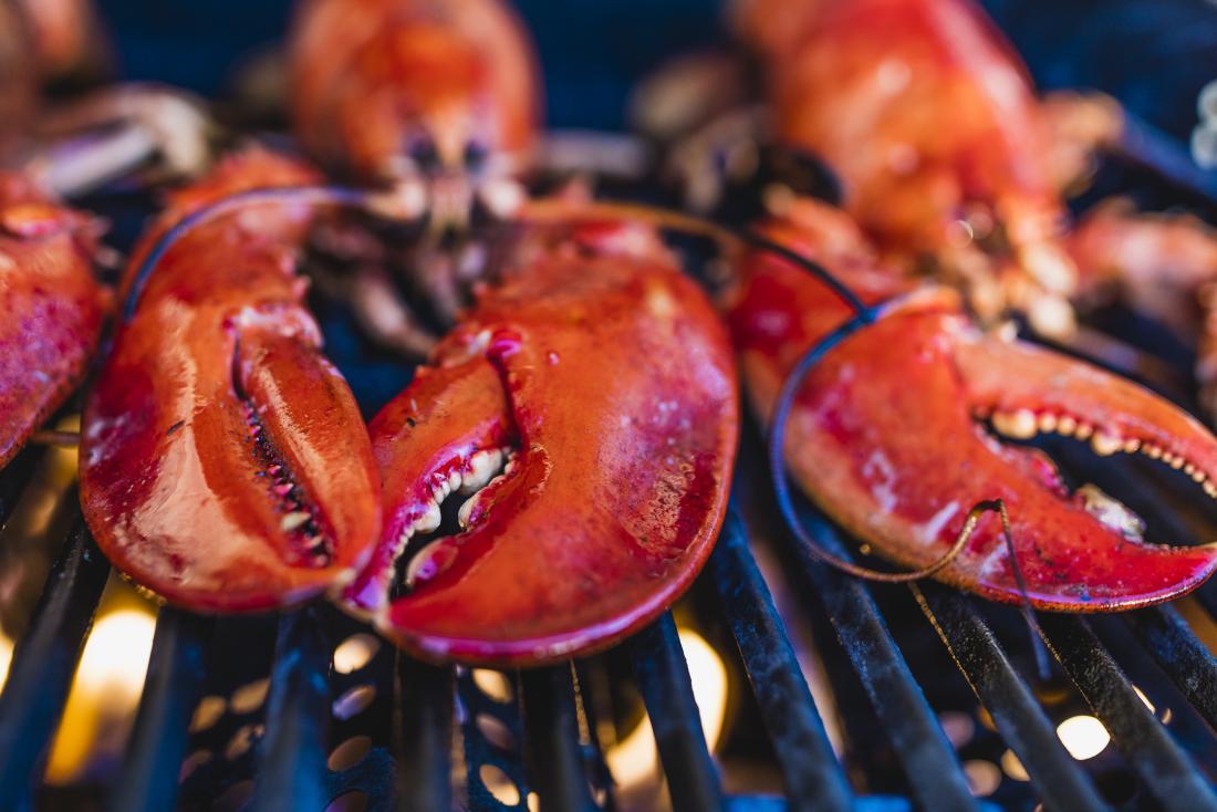 homard sur le grill