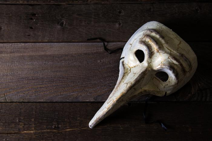 [Masque de médecin de la peste]