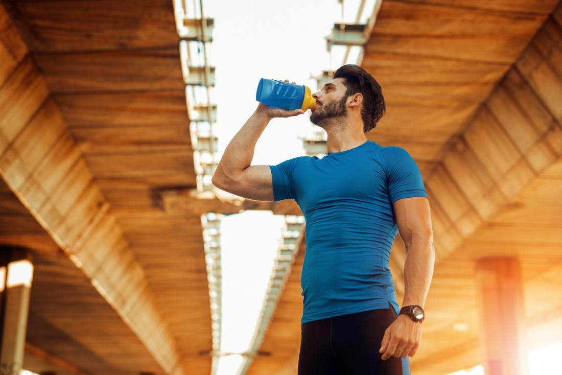 Thức uống trước khi tập thể dục