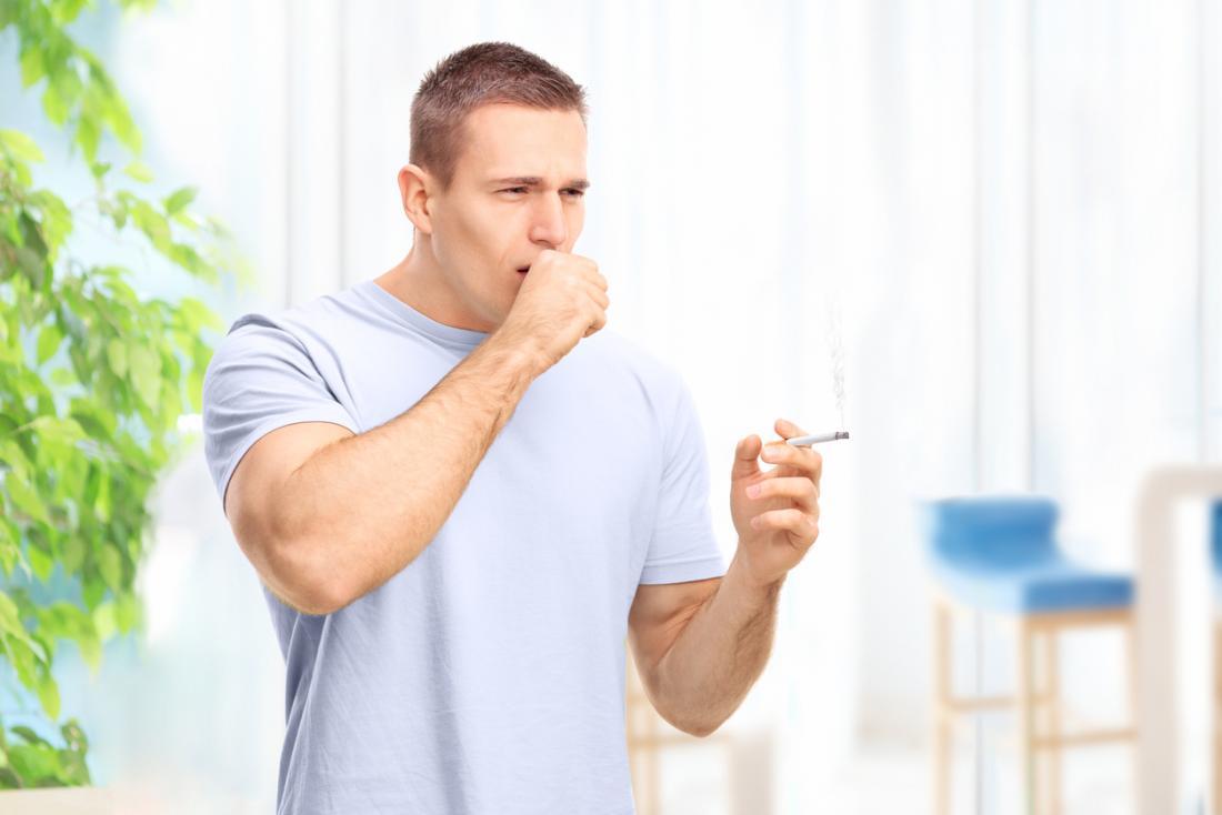 fumador de tosse