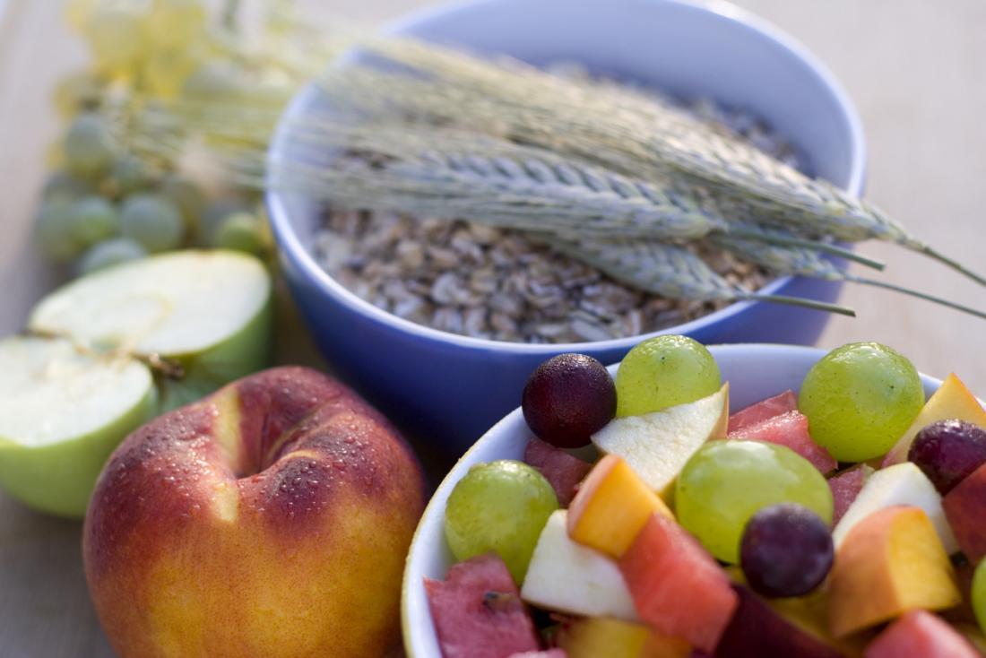 Żywność o wysokiej zawartości błonnika / włókna.