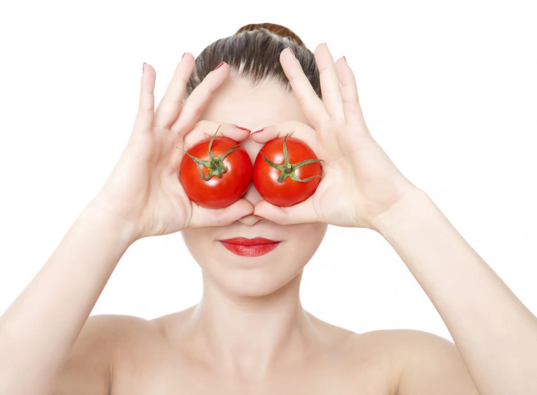 I pomodori proteggono gli occhi