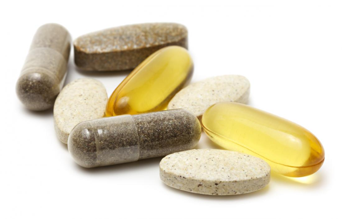 sélection de vitamines