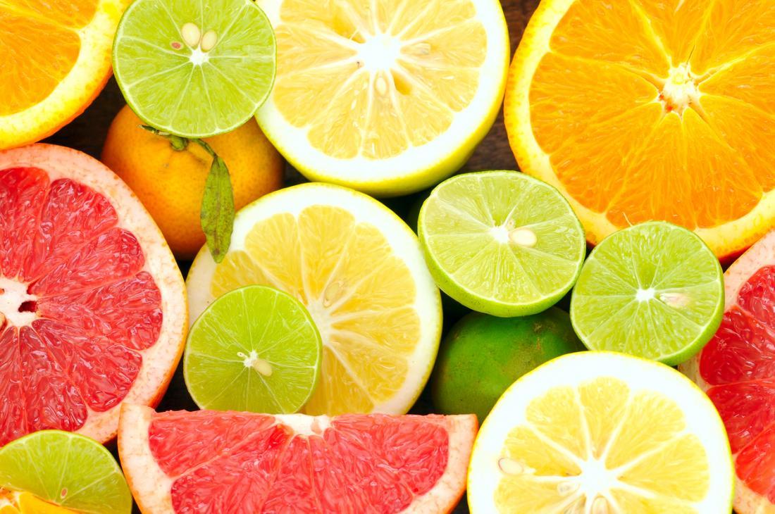 fonti di agrumi di vitamina c