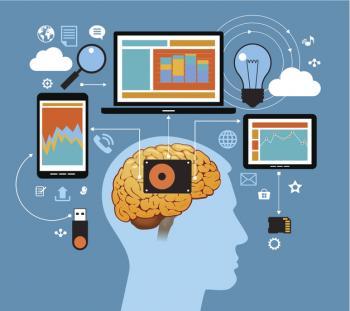 [Beyin ve teknolojinin bir çizimi]