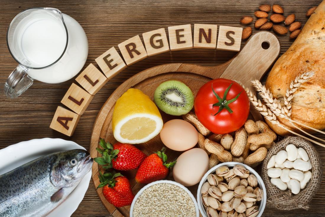 Nahrungsmittelallergien scheinen auf dem Vormarsch zu sein.