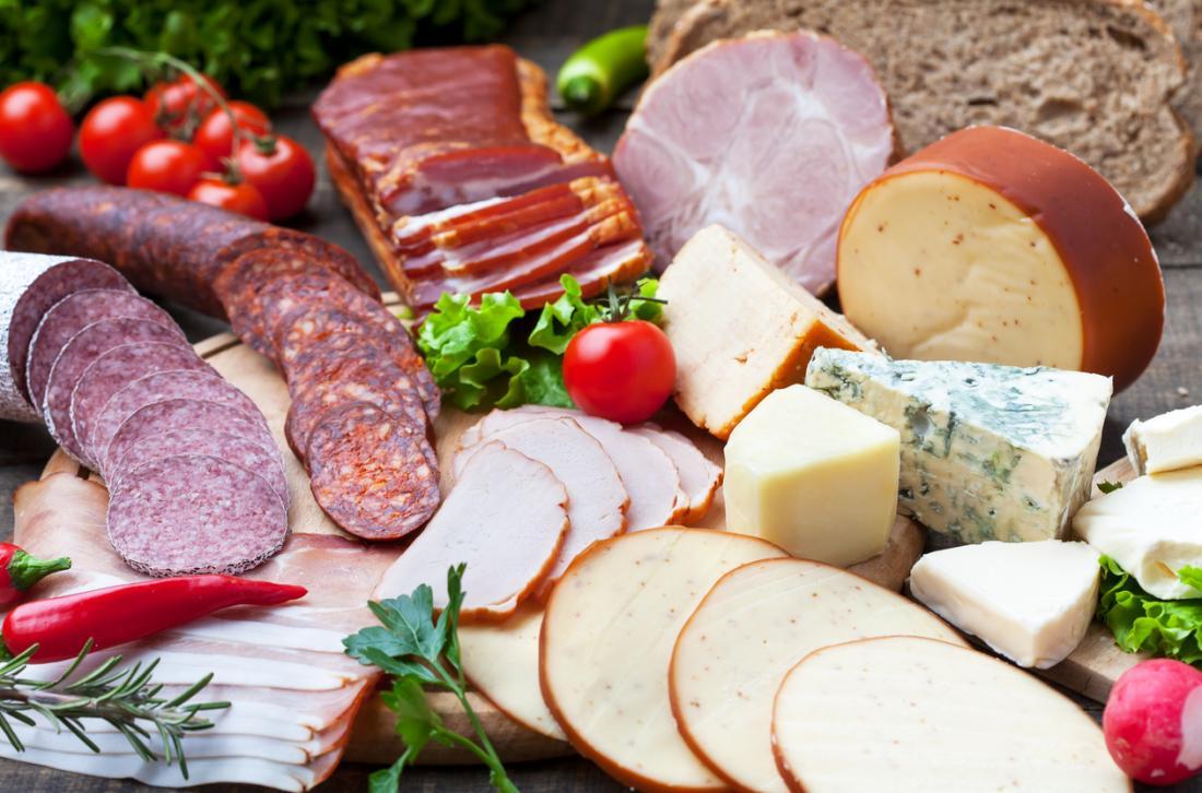 Viande et fromage