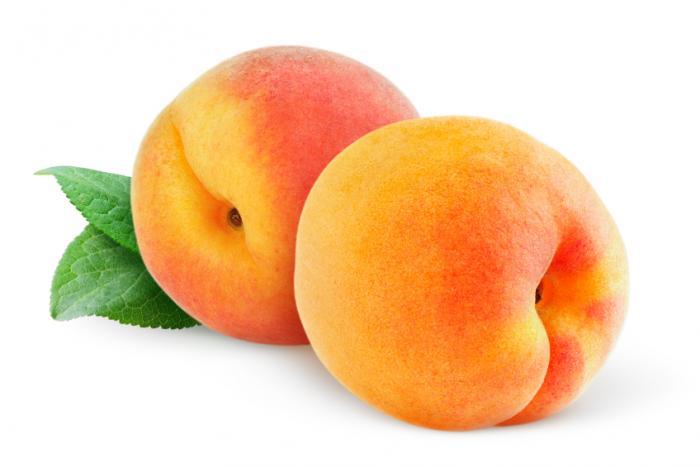 Hai quả đào