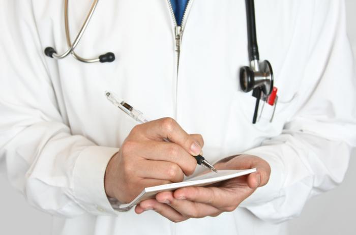 Doutor, escrita, prescrição