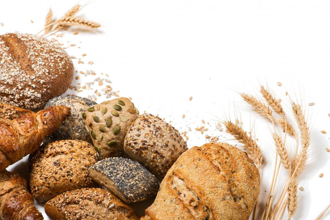 Gains de gain de poids pain complet