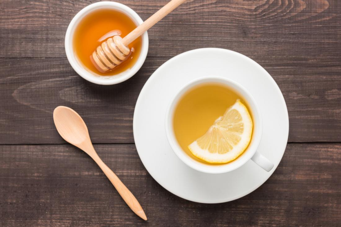 miel et thé au citron