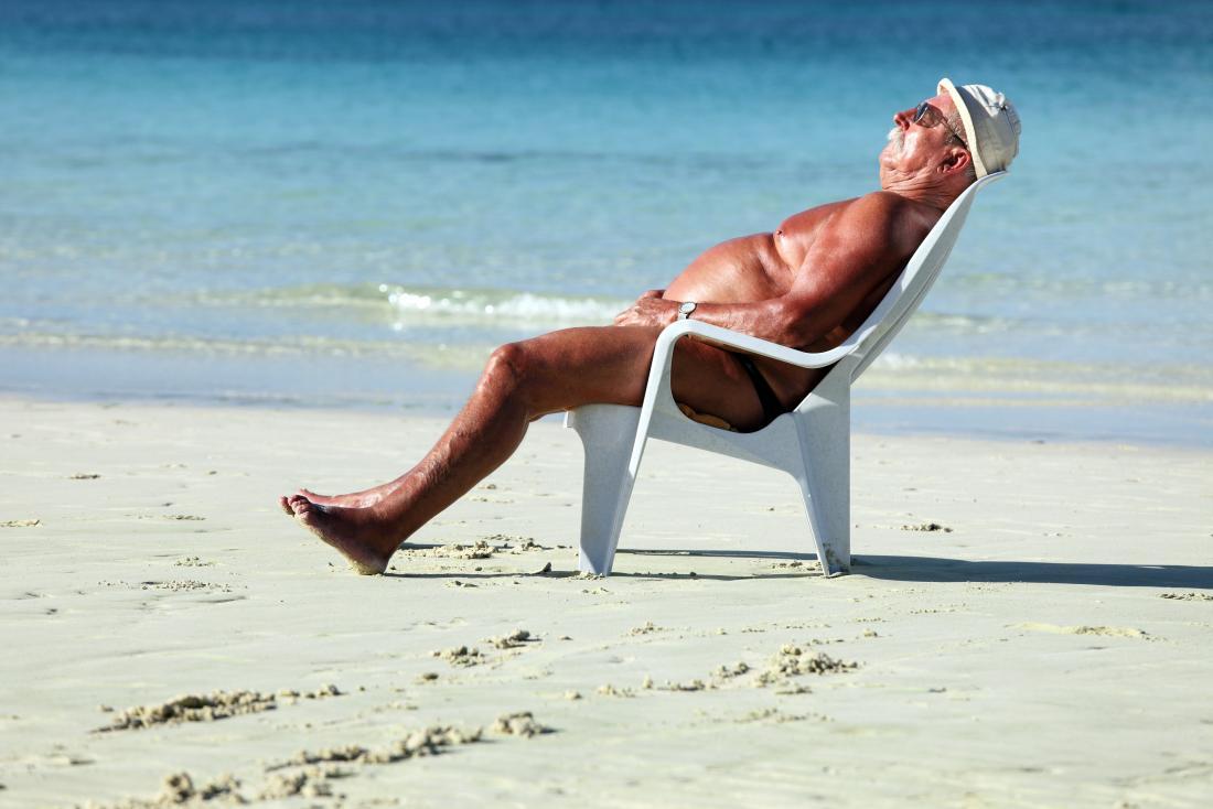 ein übermäßiger Sonnenbrand kann ein Risikofaktor für Wangen sein