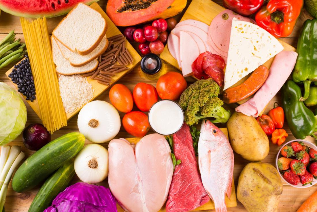 разнообразие от храни