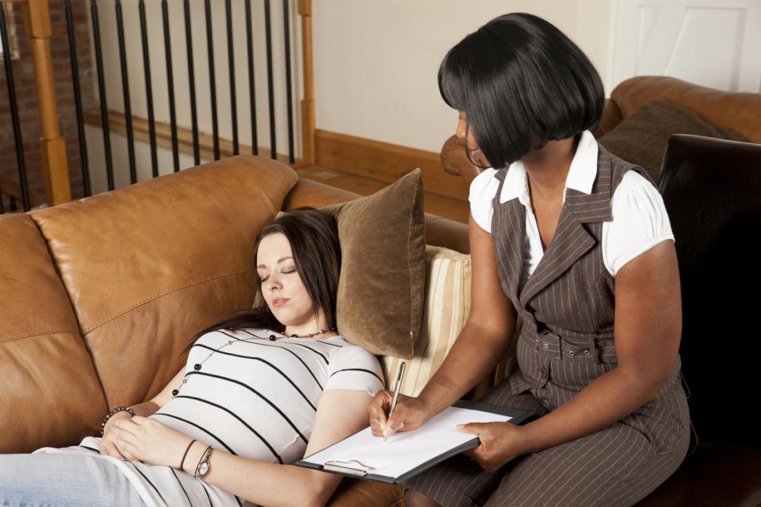 Hypnotherapie Sitzung