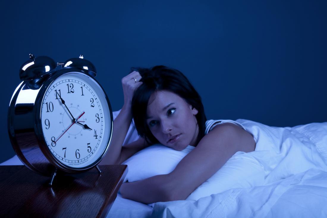 uyumayan kadın