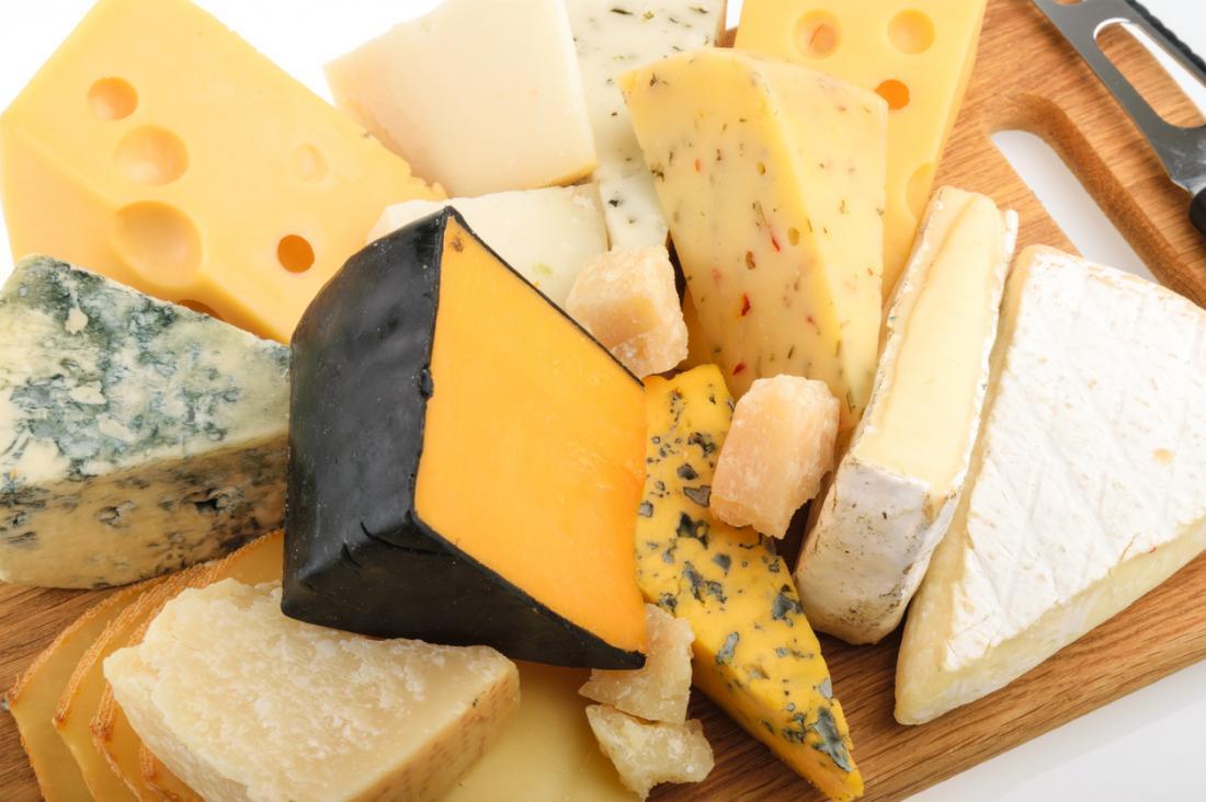 variedades de queijo