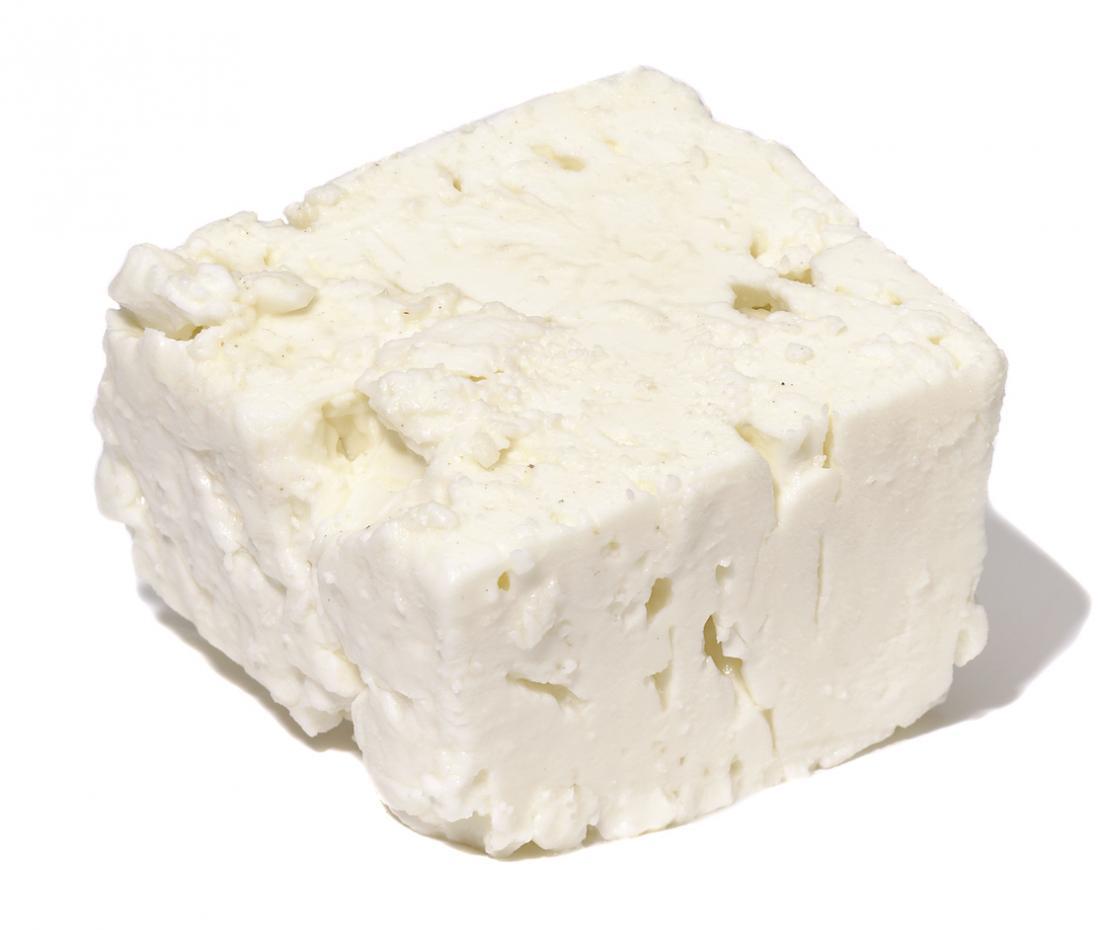 [Blocco di formaggio feta]